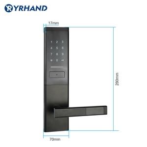 Image 4 - Security Electronic Door Lock, Smart Touch Screen Lock,Digital Code Keypad Deadbolt