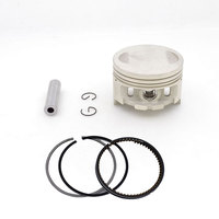 Motorcycle 65.5mm Piston 13mm Pin Ring Kit for Colombia AKT TTR125 Modified TYAN TY223 TY 223 Bosuer Dirt Bike Off-road