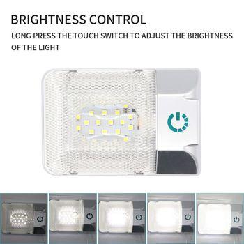 12V LED RV Ceiling Dome Light RV Interior Lighting Trailer Lights for Camper RV
