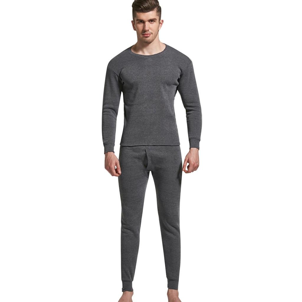Зимние комплекты термобелья мужские брендовые термо рубашки быстросохнущие анти-микробные стрейч 2019 Мужские Термо нижнее белье мужские теплые термо