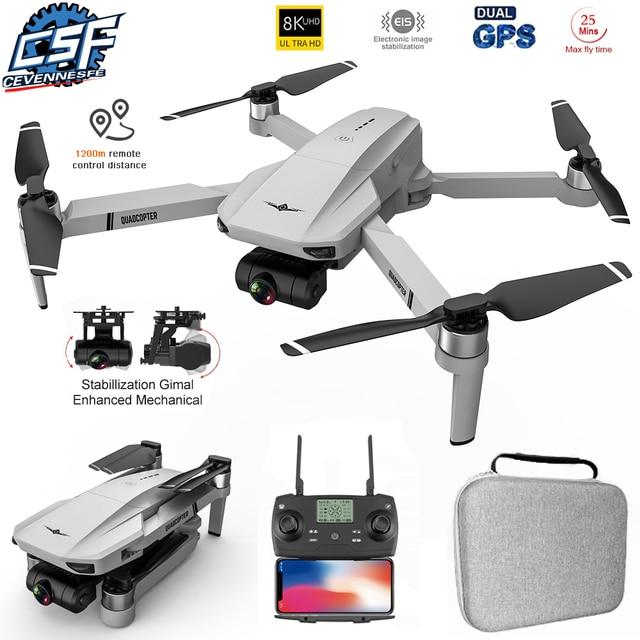 2021 New KF102 Drone 8k Brushless Motor 6K HD Camera GPS Professional Image Transmission Foldable Quadcopter VS SG906 MAX KF101 1