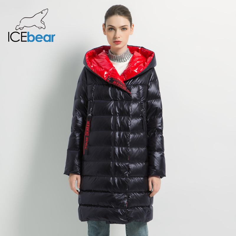 ICEbear 2019 Women's winter casual slim jacket women fashion coat High Quality New Women's  winter Coat GWD19505I icebear 2018 new autumn women cotton padded high quality thermal short paragraph slim women s jacket fall woman jacket gwc18126d