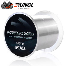 RUNCL 274M 457M 914M 100% Fluorocarbon Fishing Line Invisible Japanese Fiber Coating Leader Line Sinking Carp Fishing 5LB-32LB