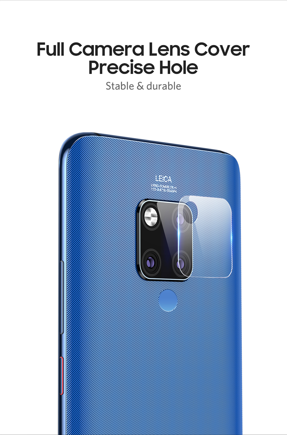 Benks 2PC KR Tempered Glass Back Camera Lens For Huawei Mate 20 Pro 20X Cover Screen Protector 0.15mm Ultra-thin Protective Film (4)