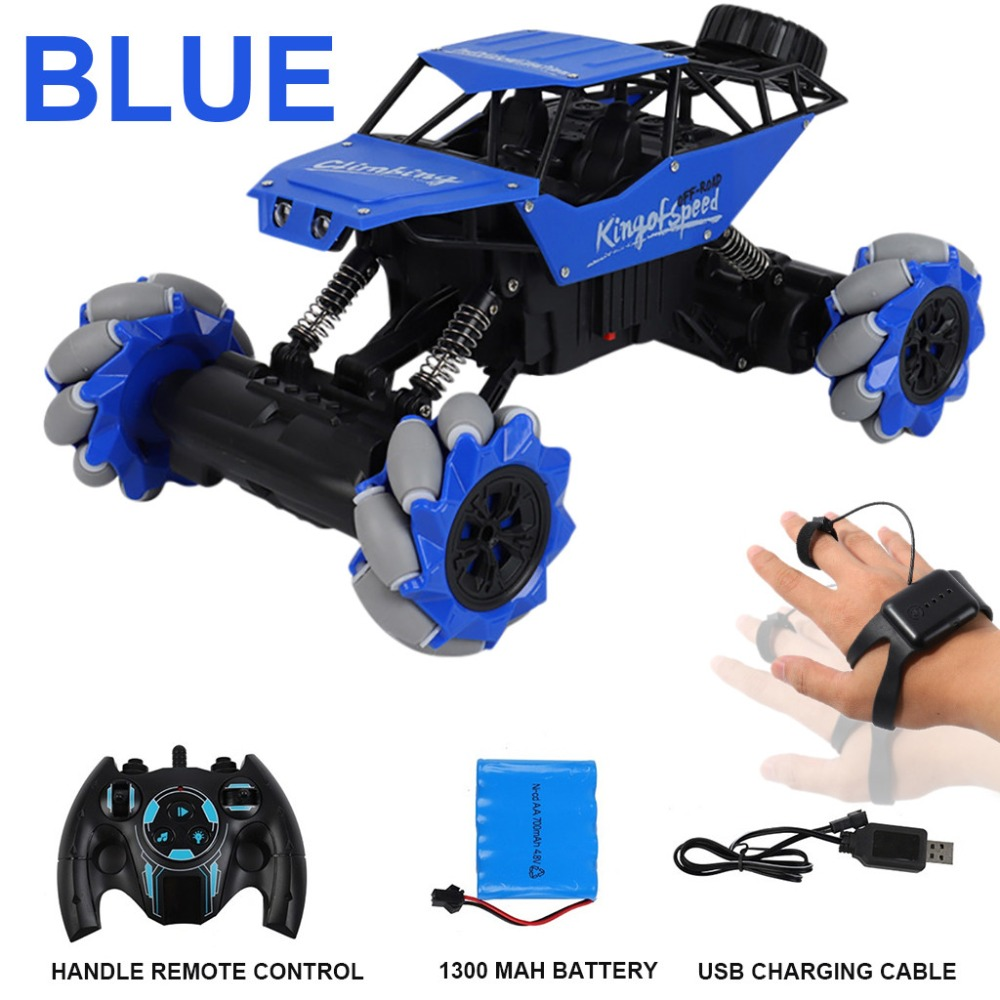 Christmas stunt remote control car gesture induction twist car light music climbing driving toy gift remote control stunt 30N19 (8)