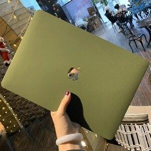 Crystal Clear Matte Hard Case Capa Para Macbook Pro 13.3 15 16 2020 A2338 A2251 A1932 Pro Retina 12 13 15 Ar 11 13 A2337 A2179