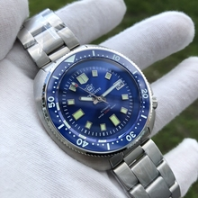 2020 New Arrival Blue SD1970 Steeldive Brand Mens Automatic