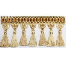 6 meter per bag Tassel curtain fringe curtain trim decoration fringed curtain lace trim