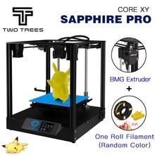 Два дерева 3d принтер сапфир профессиональный принтер diy CoreXY BMG экструдер Core xy 235x235 м Сапфир S Pro DIY наборы 3,5 дюймов сенсорный экран