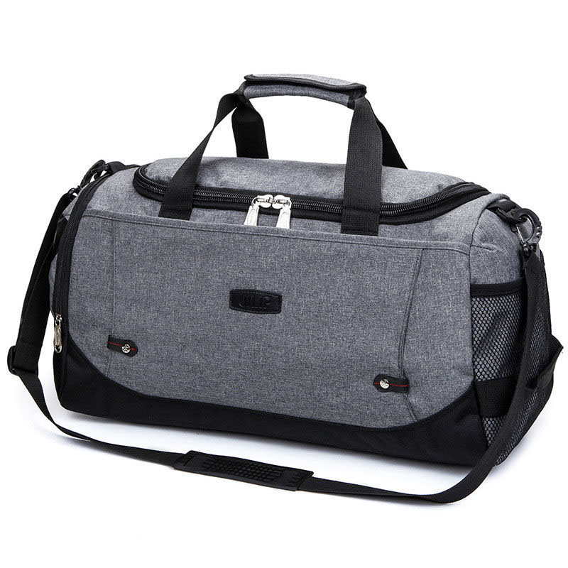 Brand Unisex Gym Bag Travel Outdoor Shoulder Bags Handbag Tote Sports Bags Duffel Men Crossbody Large Clothes Storage Bag