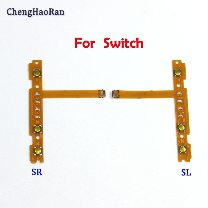 ChengHaoRan NEW Replacement Part SL SR Button Flex Cable For Nintend NS Switch Joy-Con Left Right Button Key Flex Cable