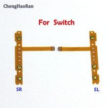 ChengHaoRan NEW Replacement part SL SR Button Flex Cable for Nintend NS Switch Joy Con left right Button Key Flex Cable