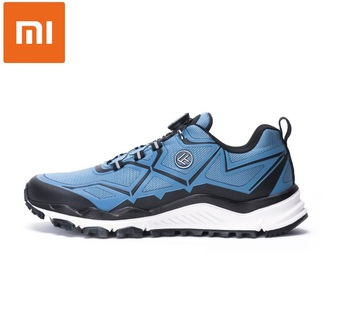 Xiaomi FREETIE Knob Outdoor Cross-Country Sports Shoes High-Elastic Cushioning Button Laces Comfortable Sneakers Running Shoes