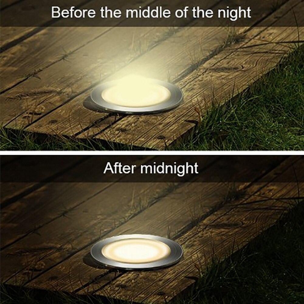 luzes subterrâneas à prova dwaterproof água movido
