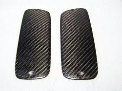 Samochód stylizacji TRD styl spojler z włókna węglowego zaślepka błyszczące wykończenie skrzydło pokrywa Fibre Splitter Kit dla Toyota 93 98 Supra MK4 JZA80 w Zestawy karoserii od Samochody i motocykle na