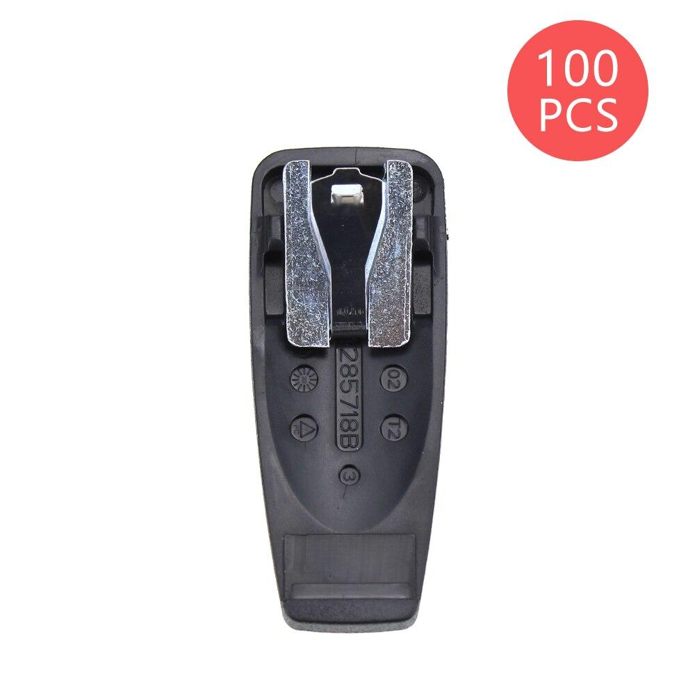 100X Belt Clip For Motorola PRO5150 GP2000 GP2100 CP1200 CP1300 CP1600 CP1660 EP350