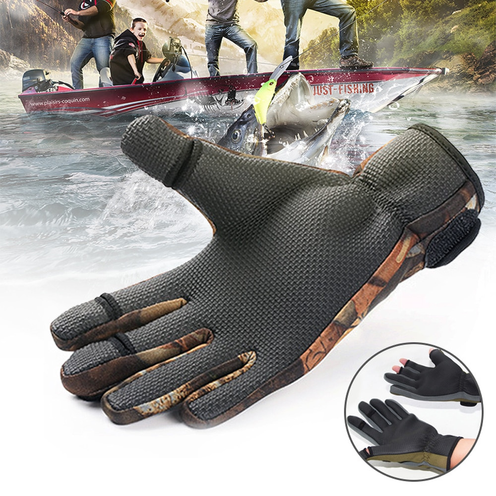 Outdoor Cycling Winter Warm Gloves Ski Gloves Windproof Snowboard Gloves Snow Sport Touch Screen Fishing Hiking Fleece Gloves