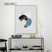 Nordic Canvas Wall Painting Picture Abstract Geometry Printing Posters Pictures for Living Room  Decor DJ596