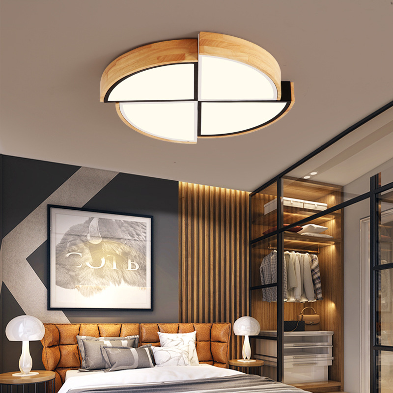 LED Ceiling lighting Lamps Living Room Lights Minimalist Modern Glorious Household Circle Bedroom Lamp Northern European-Style H