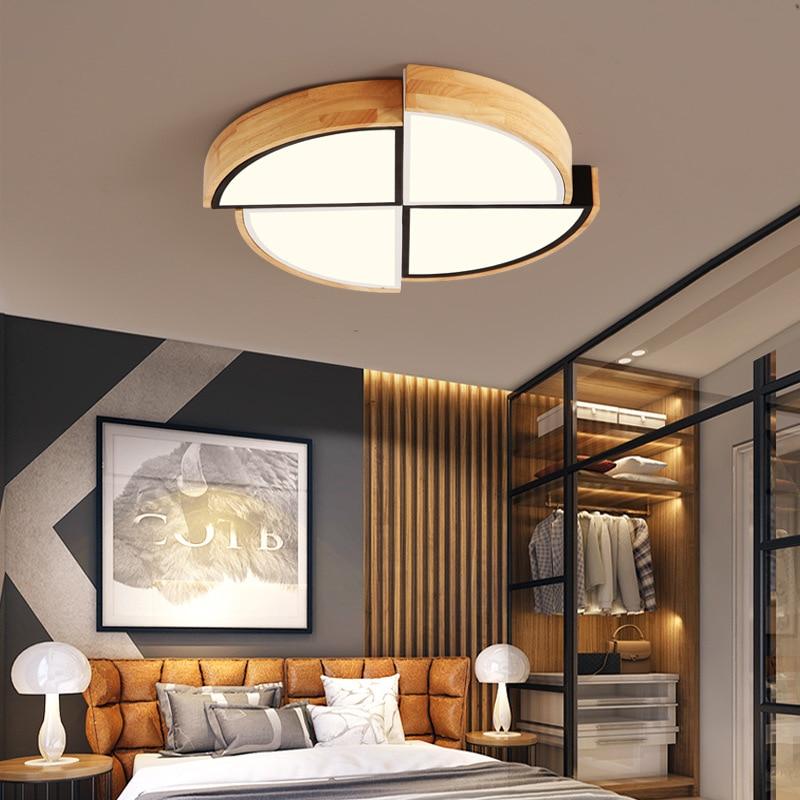 LED Ceilinglighting Lamps Living Room Lights Minimalist Modern Glorious Household Circle Bedroom Lamp Northern European-Style H