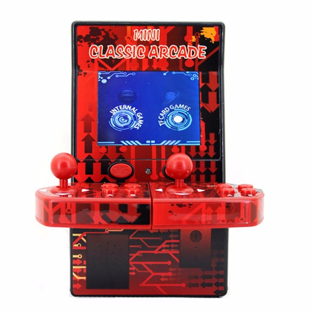 Mini Portable Arcade Machine Classical Retro Handheld Video Game Console Built-in 183 Arcade Games Game Cabinet Machine Dropship