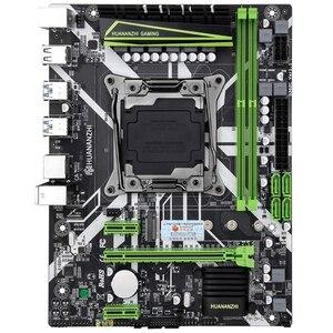 Image 1 - HUANANZHI X99 8M 마더 보드 슬롯 LGA2011 3 USB3.0 NVME M.2 SSD 지원 DDR4 REG ECC 메모리 및 Xeon E5 V3 V4 프로세서