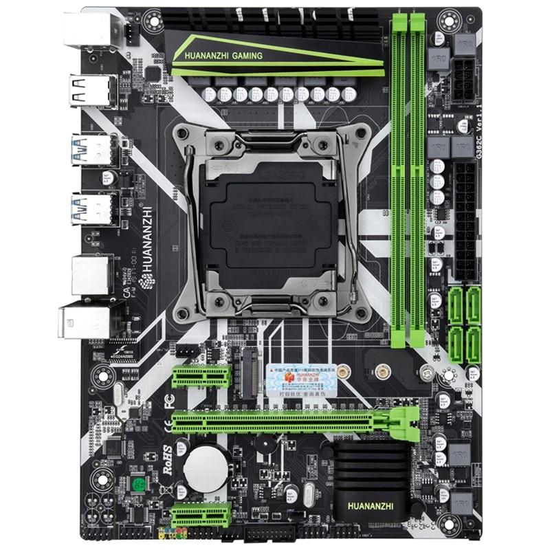 HUANANZHI X99-8M Motherboard Slot LGA2011-3 USB3.0 NVME M.2 SSD Suporte ECC REG Memória e Processador Xeon E5 V3 V4 DDR4