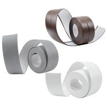 Водонепроницаемые самоклеющиеся Кухонные керамические наклейки водонепроницаемые анти-влаги ПВХ наклейки для ванной стены угловая линия наклейки на раковину