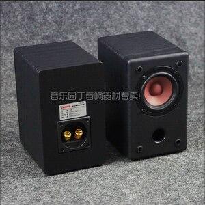 Image 2 - KYYSLB 10 20W 4 8 โอห์ม 3 นิ้ว Full Range ลำโพง HIFI AS 3Q 1 3 นิ้วเครื่องขยายเสียงลำโพง Passive ไม้ GRAIN สีดำคู่