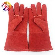Welding Glove Work BBQ Grilling Heat Resistant Oven Glove Mitt brand new 2015 ej673812 oven mitt glove
