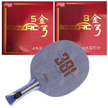 Table-Tennis-Blade Racket Ping-Pong-Bat Dhs Hurricane Goldarc-5 Arylate 301 with 8 Like-N301