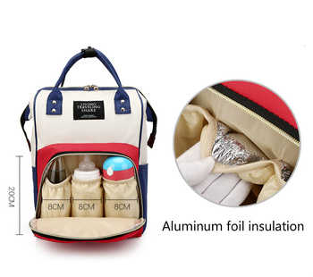 Fashion Mummy Maternity Nappy Bag Large Capacity Nappy Travel Backpack Nursing Ladies Function For Baby Care Women\'s Casual Bale
