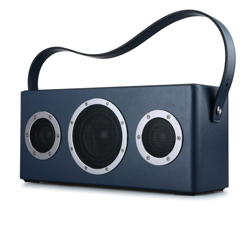 GGMM M4 Wireless WiFi <font><b>Speaker</b></font> Portable <font><b>Bluetooth</b></font> <font><b>Speaker</b></font> Metro Audio Heavy Bass Sound for iOS Android Windows With MFi certified image