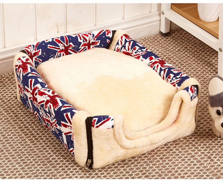 Cute Pet Waterloo Dog House Nest With Mat Foldable Pet Dog Bed House For Small Medium Dogs Travel Pet Bed Bag CM