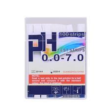 1 Box PH Test Lackmus Papier PH 0,0-7,0 Wasser Alkalische Säure Test Papier PH Tester