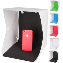 23*23cm 9.5 Button Type Portable Foldable Mini Photo Studio Light Box With 5 Color Background Tent Photography Shooting Softbox