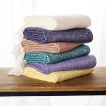 Battilo матовое плетеное одеяло мягкое легкое удобное для кровати