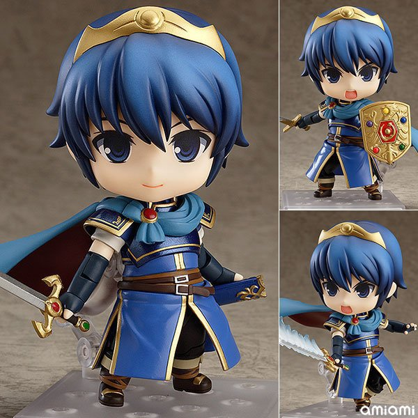 10cm Fire Emblem Marth #567 Action Figure Anime Doll Cartoon Figure Toy Collection Model Toy For Friends Gift