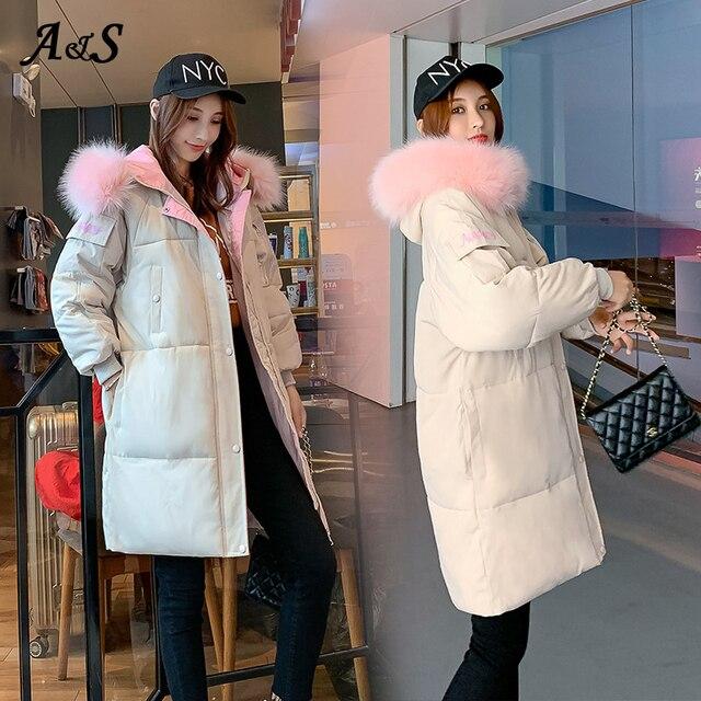Купить anbenser женское зимнее теплое пальто с капюшоном размера плюс картинки цена