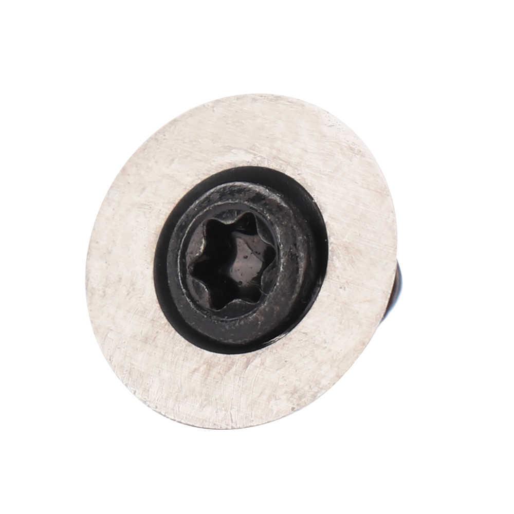 Rotondo Inserto In Metallo Duro con Vite di 12 millimetri di Diametro In Acciaio Al Tungsteno Lame Tornio CNC Lavorazione Del Legno Strumento di Svolta per Lavorazione del Legno