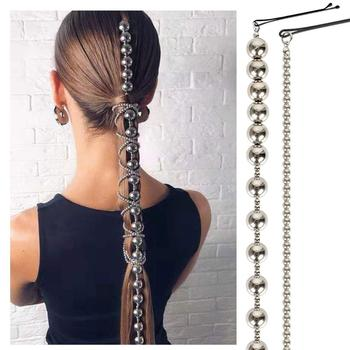 New Women Lady Headband Jewelry Hair Chain Fashion Headgear Decoration For Accessories Alloy Chains for