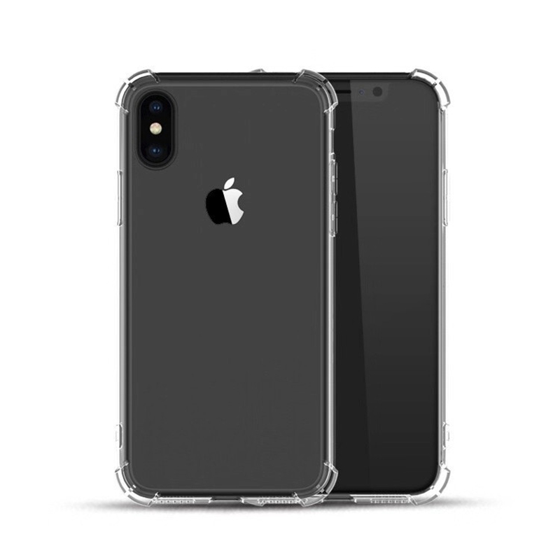 Rsionch Shockproof Case for iPhone Xi Pro Xr X XS XS Max Clear Soft Silicone Protection Back cove for iPhone 7 8 7 8 Plus Xs Max