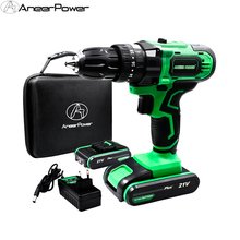 New Style 21V Impact Electric Cordless Battery Hammer Drill Household Power Tools Rechargeable Hand Electric Drill Easy to carry electric hammer drill diold прэ 9 power 1500 w speed from 0 to 750 rpm