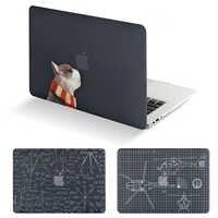 Nova Impressão Universo Caso Laptop Para MacBook Air Pro Retina 11 12 13 15 polegada com Barra de Toque + Teclado cobrir