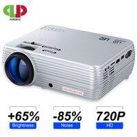 Мощный мини-проектор X5 + 1280*720P Full HD проектор 2600 люмен совместим с tv Stick, PS4, HDMI, VGA, TF, AV и USB