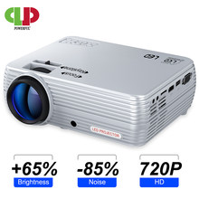 Kuat Proyektor Mini X5 + 1280*720P Full HD Projector 2600 Lumens Yang Kompatibel dengan TV Tongkat PS4, HDMI, VGA, TF, AV dan Usb(China)