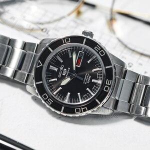 Image 2 - Seiko Horloge Mannen 5 Automatische Horloge Top Merk Luxe Sport Mannen Horloge Set Waterdichte Mechanische Militaire Horloge Relogio Masculinosnz