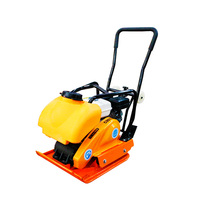 C90T gasoline Electric flat shovel asphalt pavement slab small vibration shock compaction compaction tamping machine