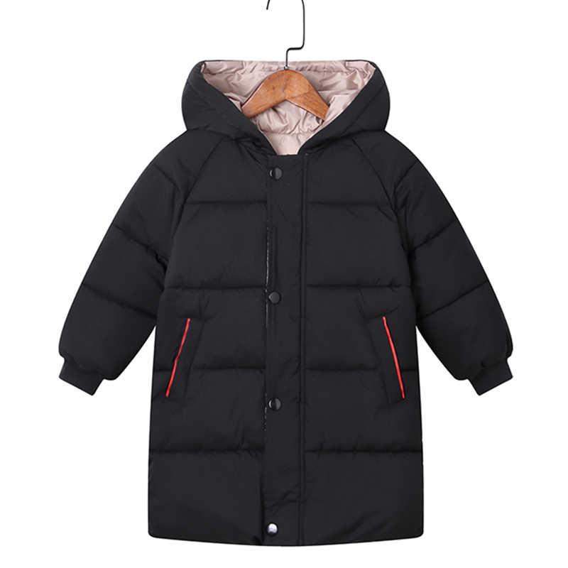 בני מעילי בנות מעילי חורף ילדי מעילי תינוק עבה ארוך מעיל ילדים חם הלבשה עליונה סלעית מעיל חליפת שלג מעיל בגדים