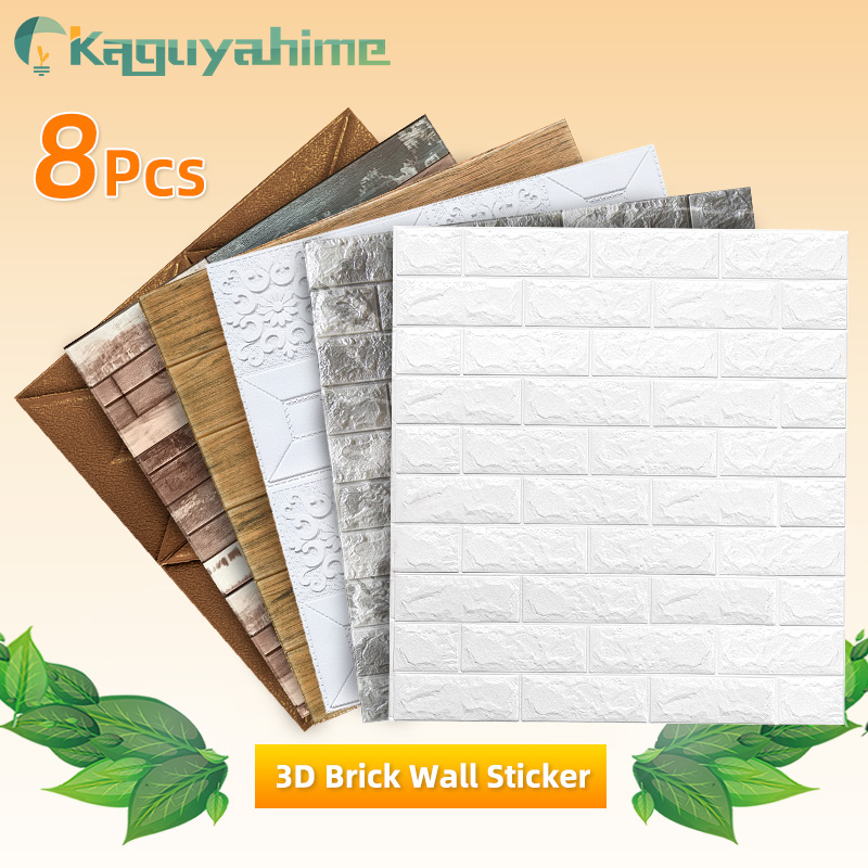 DIY Wall Stickers 1pc/8pcs 3D Marble Mosaic Peel And Self-adhesive Waterproof Wallpaper Kitchen Bathroom Home Wall Decal Sticker